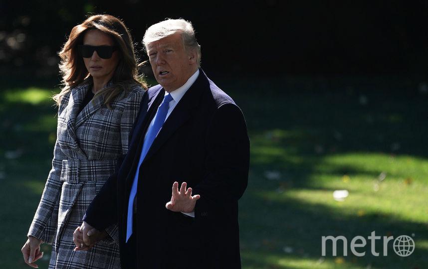 Мелания Трамп и президент США побывали в Питтсбурге. Фото Getty