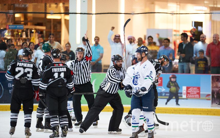 Хоккей в ОАЭ. Фото Компания Art Media