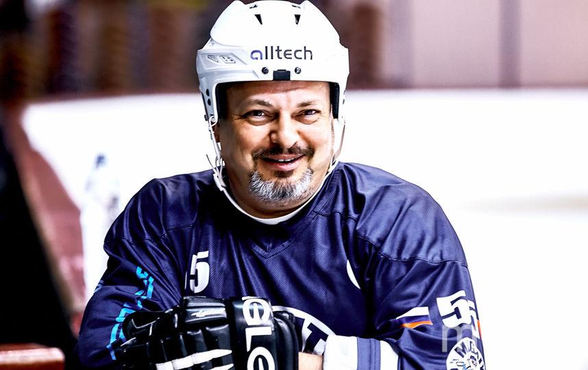 Хоккей в ОАЭ, Владимир Бурдун. Фото Компания Art Media