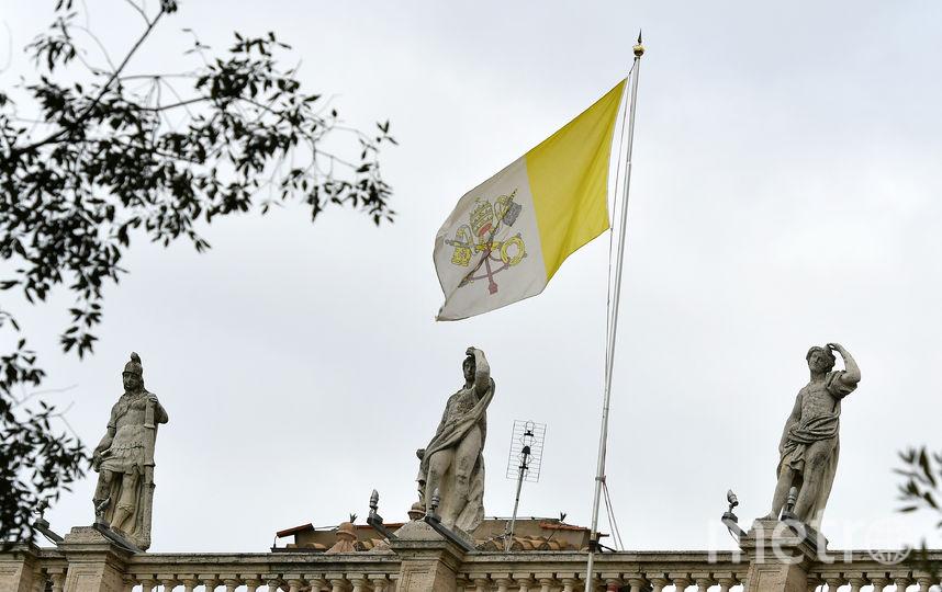 В посольстве Ватикана в Риме были найдены человеческие кости. Фото AFP