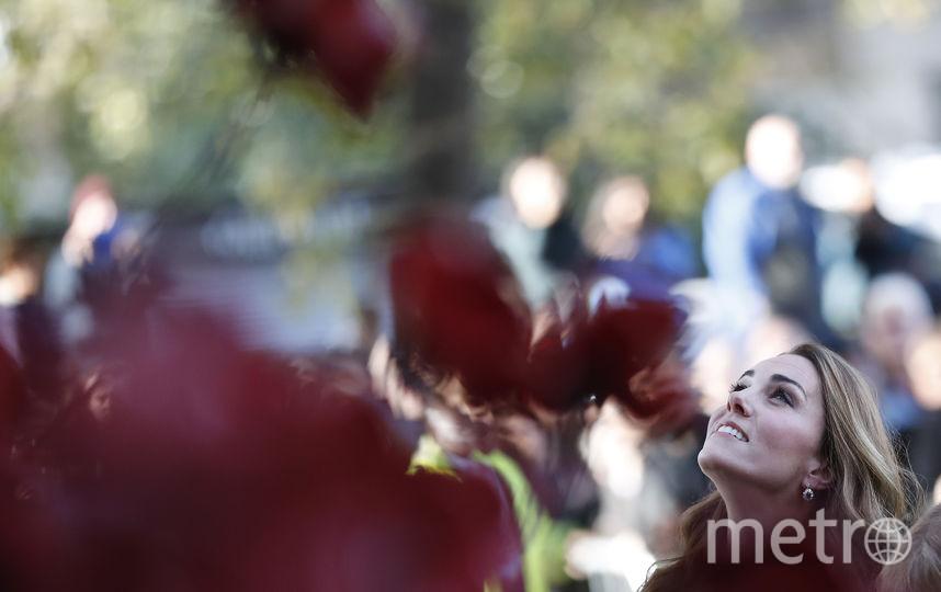 Кейт Миддлтон осмотрела экспозицию Имперского военного музея. Фото Getty