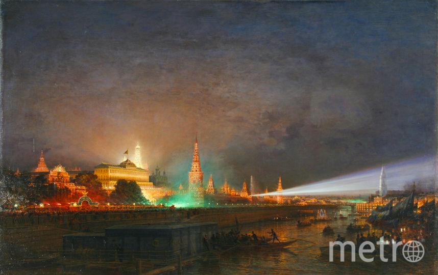 Алексей Боголюбов «Иллюминация Кремля», 1883. Фото Предоставлено организаторами