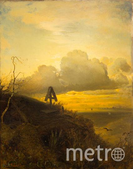 Алексей Саврасов «Могила на Волге. Окрестности Ярославля», 1874 г. Фото Предоставлено организаторами