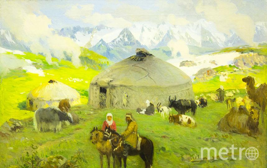 Григорий Гуркин «Кочевье в горах», 1910-е. Фото Предоставлено организаторами
