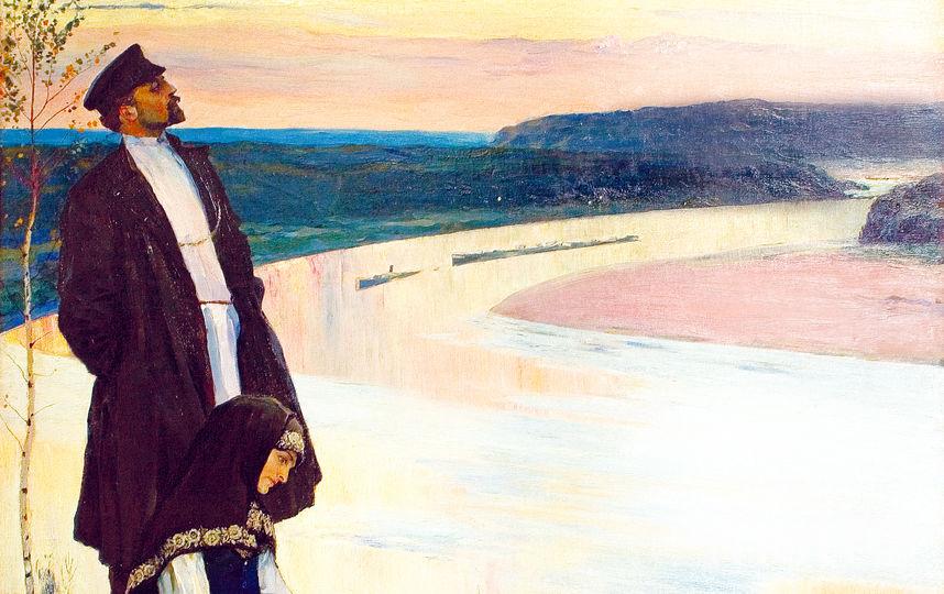 Михаил Нестеров «За Волгой», 1905 год. Фото Предоставлено организаторами