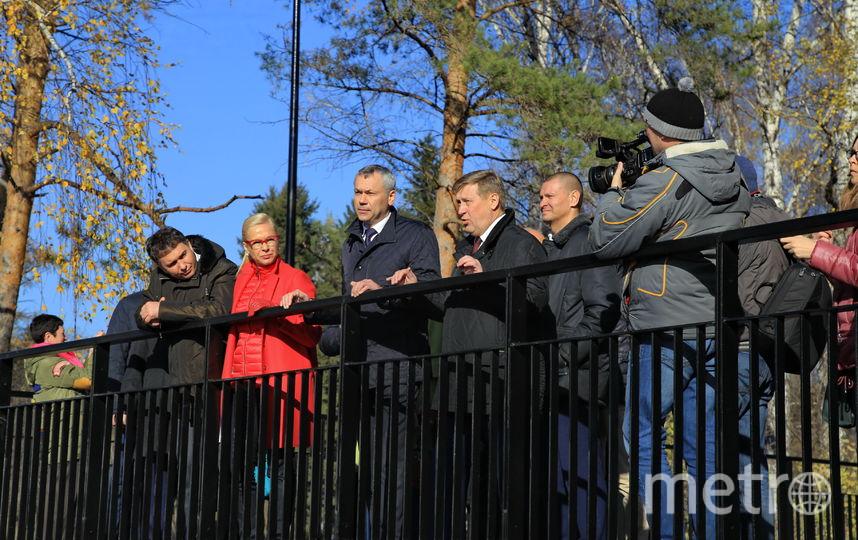 Андрей Травников поблагодарил за успешную работу всех специалистов, экспертов, неравнодушных горожан, внесших свою лепту в обновление набережной. Фото Пресс-служба мэрии Новосибирска