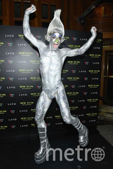Фото с вечеринки Хайди Клум. Танцор Фрэнки Гранде. Фото Getty