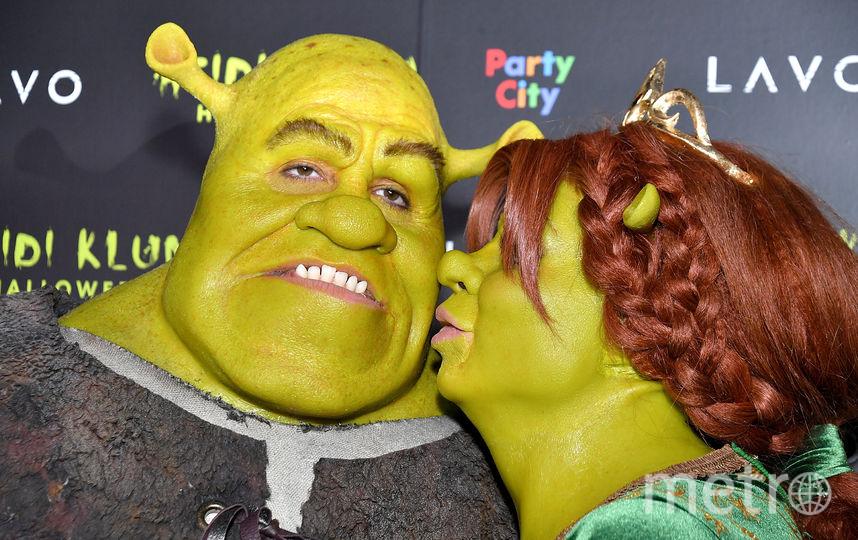 Хайди Клум и ее друг Том Каулитц. Фото Getty