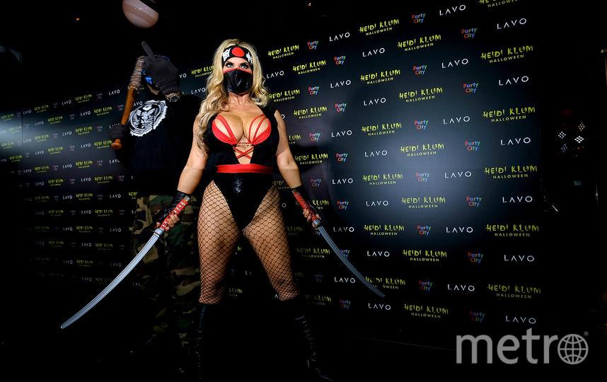 Фото с вечеринки Хайди Клум. Коко. Фото Getty