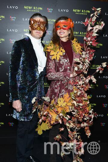 Фото с вечеринки Хайди Клум. Кайл Маклахлен и Дезире Грубер. Фото Getty