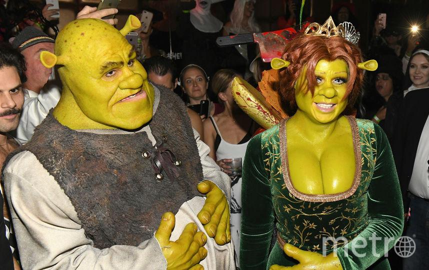 Фото с вечеринки Хайди Клум. Хайди и Том. Фото Getty