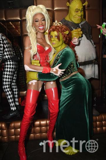 Фото с вечеринки Хайди Клум. Винни Харлоу и Хайди. Фото Getty