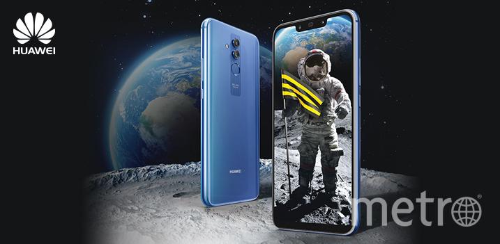 """Смартфон Huawei. Фото ПАО """"ВымпелКом"""""""