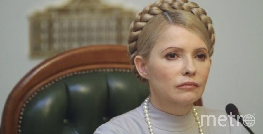 Юлия Тимошенко - под санкциями. Фото Getty