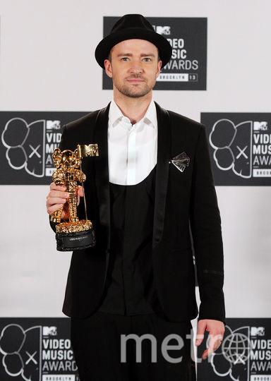 Музыкант и актёр Джастин Тимберлейк. Фото Getty