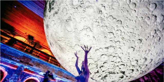 """""""Фестиваль света"""". Работу """"Светящаяся Луна"""" впервые представят в Петербурге этой осенью в Парке Победы."""