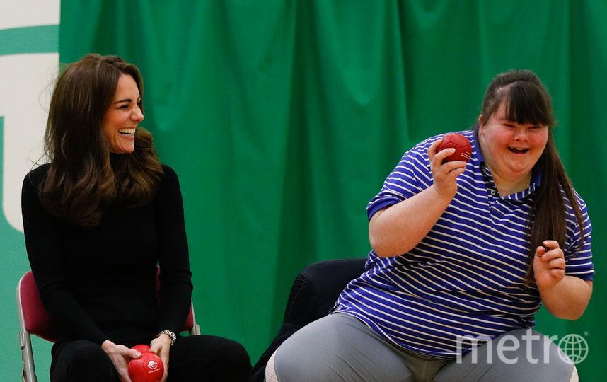 Кейт Миддлтон в организации Coach Core в графстве Эссекс. Фото Getty