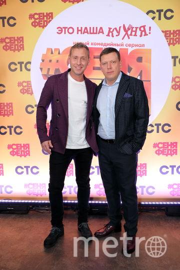 Михаил Тарабукин и Сергей Лавыгин. Фото Предоставлено пресс-службой канала СТС.