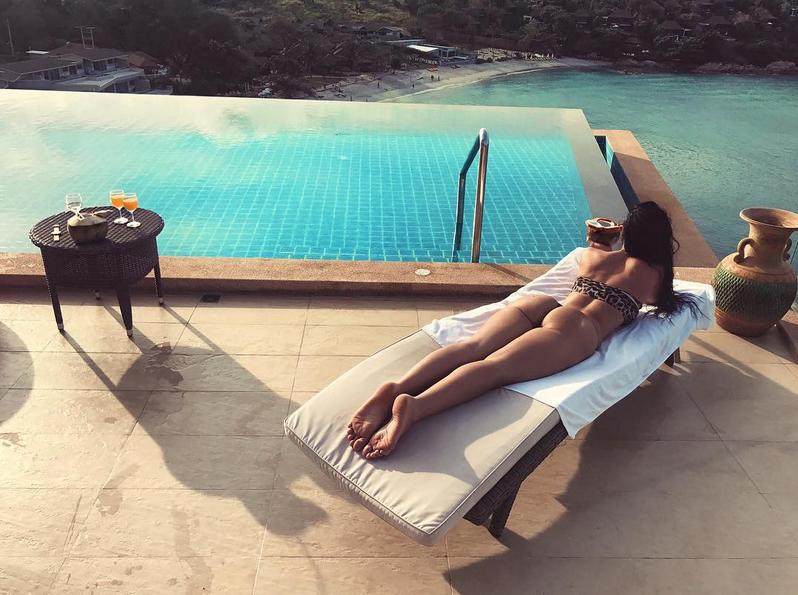 Гаянэ Багдасарян. Фото Скриншот Instagram: @gayana__model