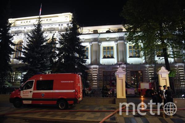 В торговом центре произошло возгорание. Пришлось эвакуировать посетителей. Фото РИА Новости