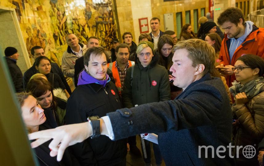 На первой фокус-группе можно было лично поговорить с руководителями подземки, включая Романа Латыпова. Фото предоставлено пресс-службой метро