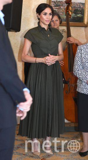 Меган Маркл и ее наряды во время тура в Австралию. Фото Getty