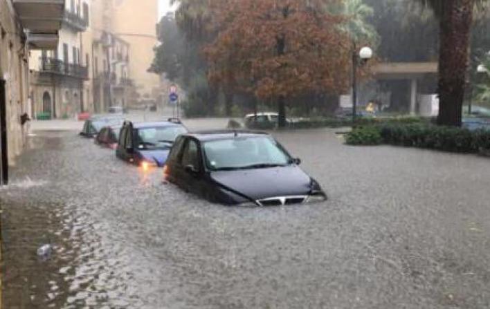 Сицилию затопило в результате ливней: есть жертвы. Фото скриншот https://www.instagram.com/alessandro.gassmann_officialfp/