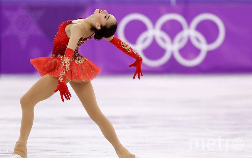 Алина Загитова, фотоархив выступления на Олимпийских играх - 2018. Фото Getty