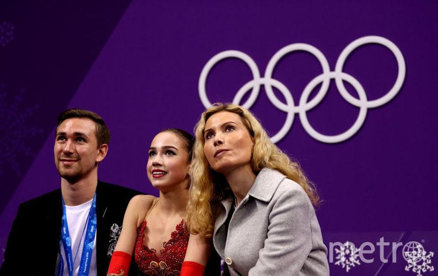 Загитова.Алина Загитова, фотоархив выступления на Олимпийских играх - 2018. Фото Getty