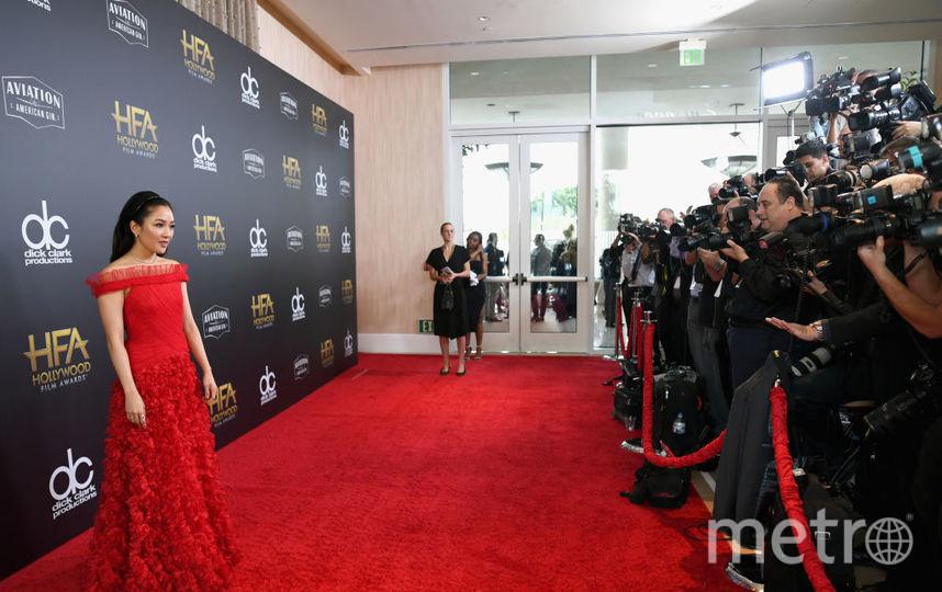 Американская атриса Констанс Ву на HFA. Фото Getty