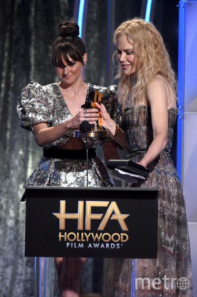 Николь Кидман и Шейлин Вудли на HFA. Фото Getty