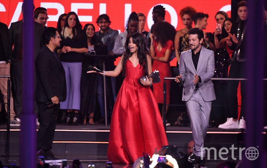 Камила Кабелло на MTV Europe Music Awards-2018. Фото Getty