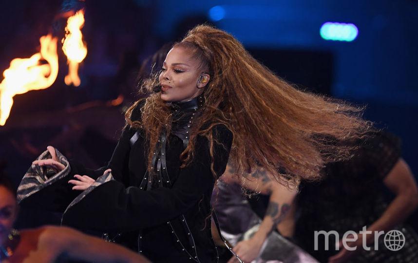 Джанет Джексон на MTV Europe Music Awards-2018. Фото Getty