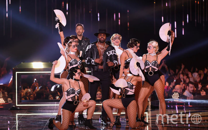 Джейсон Деруло на MTV Europe Music Awards-2018. Фото Getty