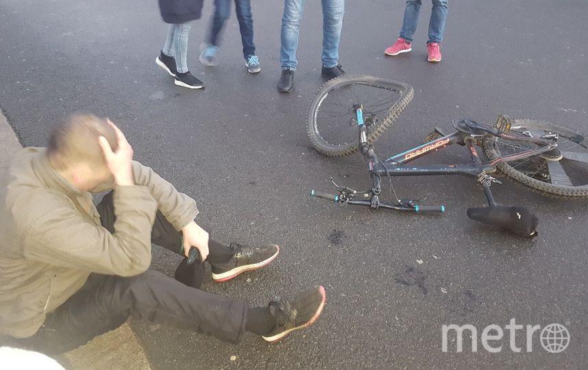 Смешались в кучу: В Петербурге столкнулись велосипедист и карета с лошадьми. Фото ДТП и ЧП | Санкт-Петербург | Питер Онлайн | СПб, vk.com