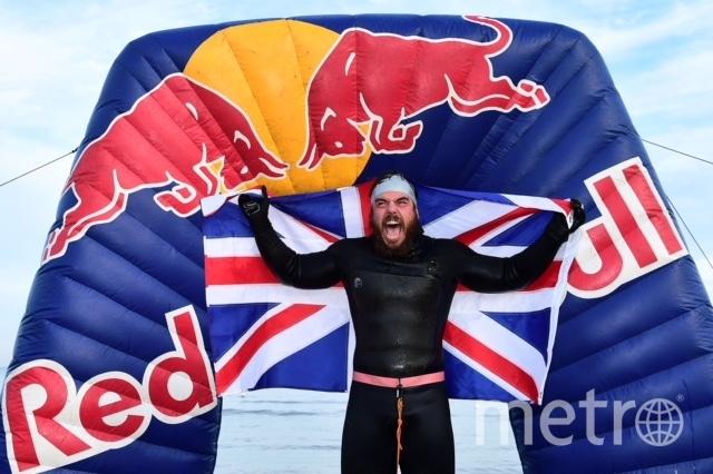 Заплыв Росса. Фото Red Bull