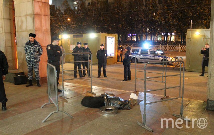 предоставлено пресс-службой УВД на Московском метрополитене.
