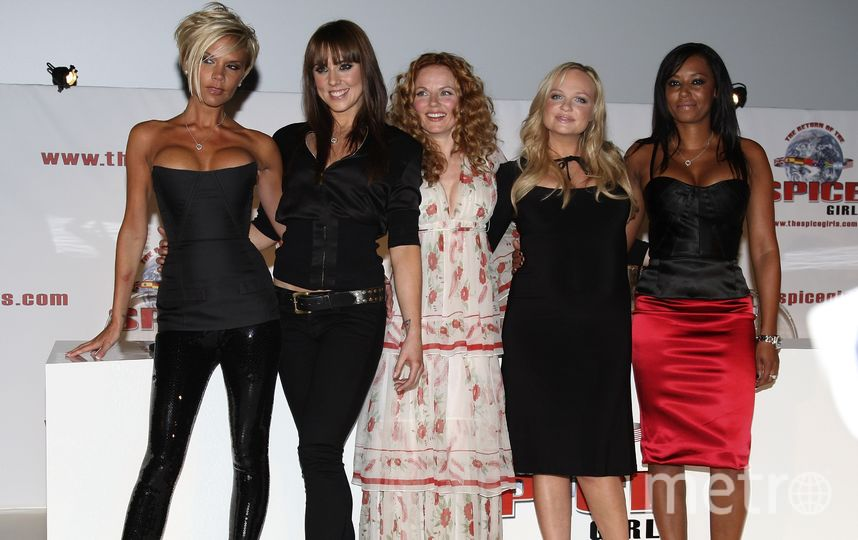 Британская группа Spice Girls. Фото Getty