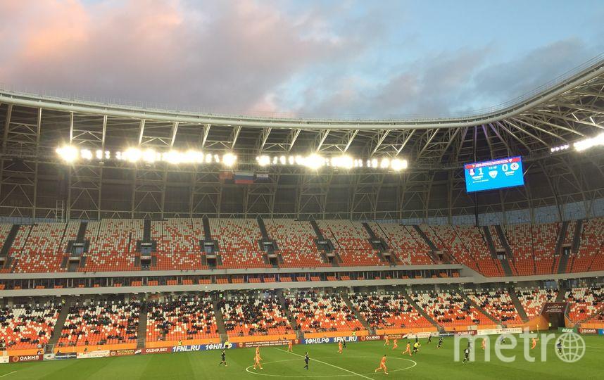"""""""Мордовия Арена"""". Фото Кирилл Сосков, """"Metro"""""""