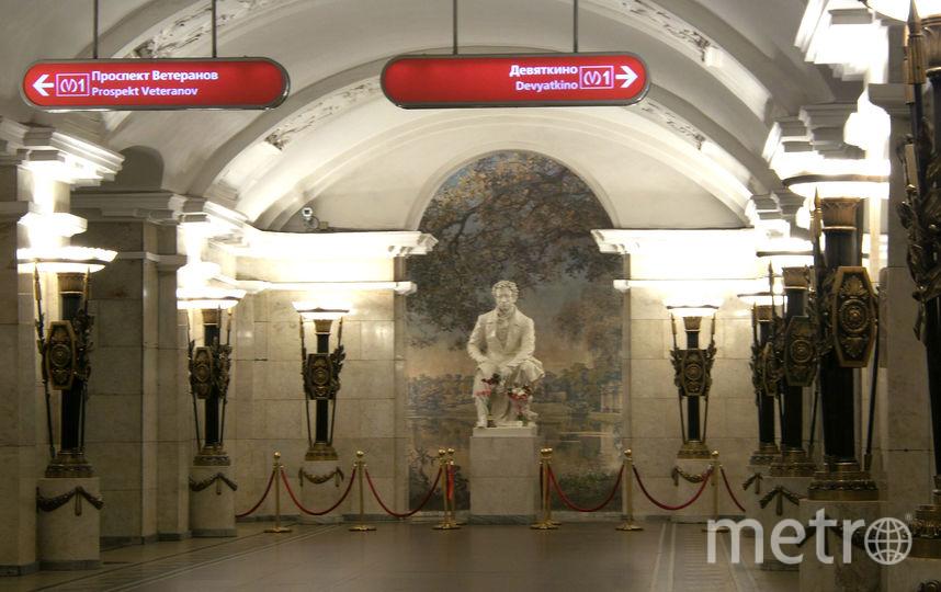 """Стихи прочтут на """"Пушкинской"""". Фото """"Metro"""""""