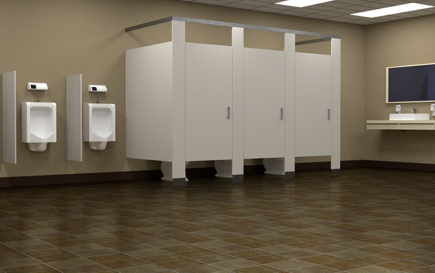 """В Германии мертвый свидетель три дня """"просидел"""" в туалете суда. Фото Pixabay.com"""