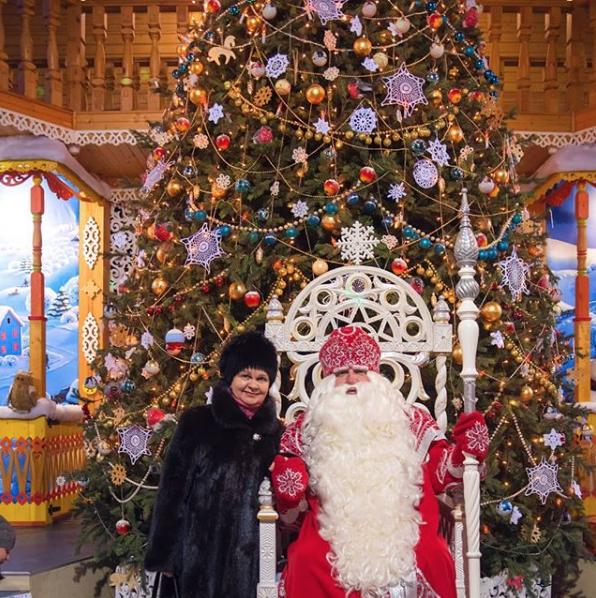 Вотчина Деда Мороза. Фото instagram eklobukova