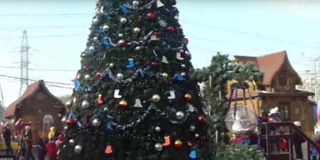 Московская усадьба Деда Мороза.