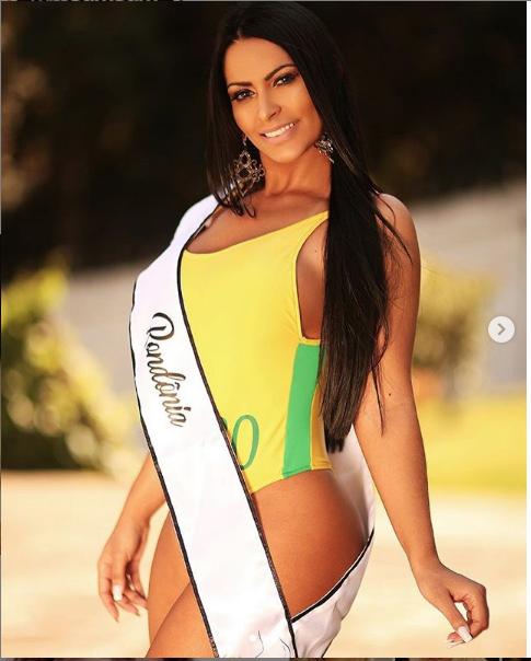 """Эллен Сантана - победительница конкурса """"Мисс Бум-Бум-2018"""". Фото https://www.instagram.com/ellensantanaoriginal/"""