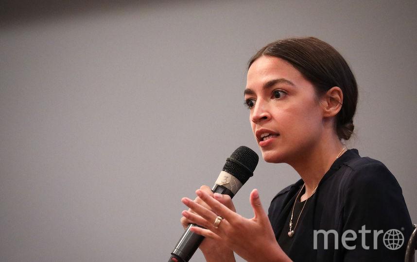 Конгрессвумен Александрия Оказио-Кортес. Фото Getty