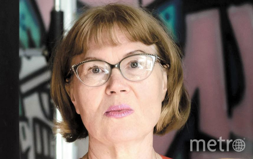 "Елена Колядина, журналист, писатель. Фото ""Metro"""