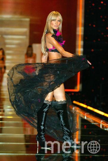 Хайди Клум. Шоу Victoria's Secret в 2002 году в Нью-Йорке. Фото Getty