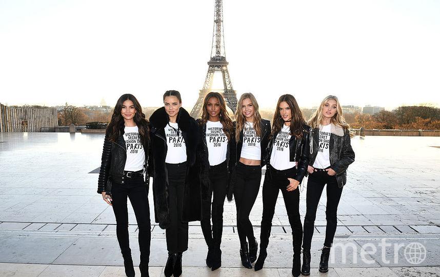Шоу Victoria's Secret в 2016 году во Франции. Фото Getty