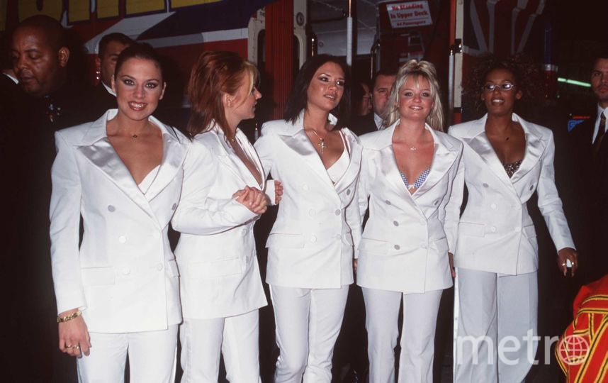 Spice Girls 20 лет назад - 1998 год. Фото Getty