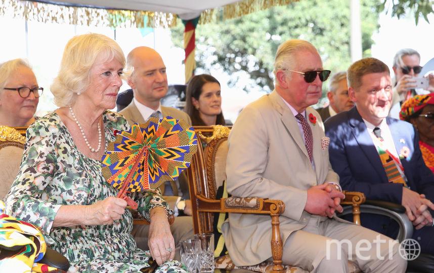 Принц Чарльз и его жена Камилла с визитом в Гане. Фото Getty